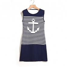 sukienka marynarski styl