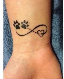 Tatuaż dla właścicieli zwierzaków.