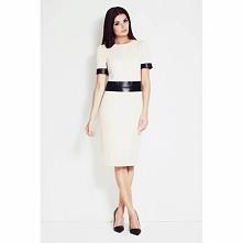 Sukienka etui krótki rękaw A41