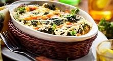 Zapiekane brokuły z żółtym serem