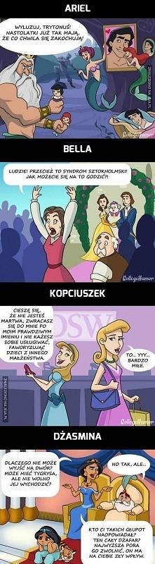 Gdyby księżniczki Disneya miały matki...