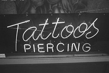 #tattoos #piercing #pale #grunge