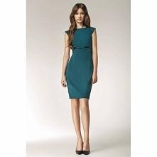 Elegancka sukienka midi S36