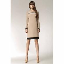 Sukienka z długim rękawem S40