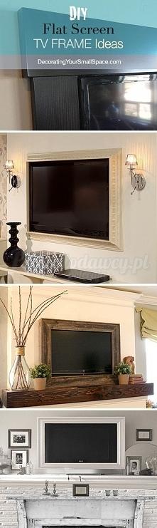 Pomysły na wkomponowanie telewizora