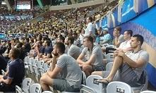 Tak nasi siatkarze czekali na swój mecz :D