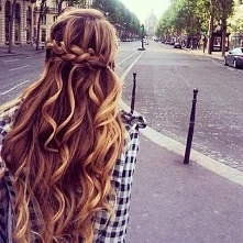 Beautiful hairstyle for every day
