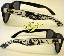 Ręcznie malowane okulary batman :) Więcej po kliknięciu na zdjęcie zapraszamy
