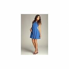 Krótka sukienka rozkloszowana 83