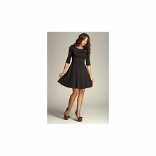 Elegancka sukienka rozkloszowana 81