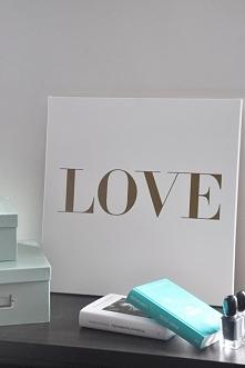 obraz LOVE IN VOGUE 50/50cm