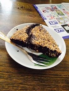 czekoladowe ciasto z fasoli . Bardzo polecam !!