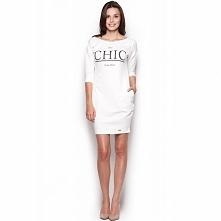 Sportowa sukienka Chic 312