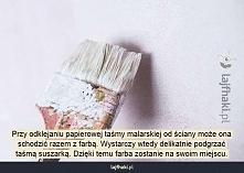 Jak zerwać taśmę malarską z...