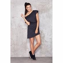 Sukienka asymetryczna M001