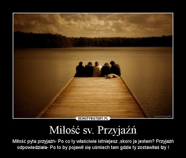 Miłość vs. Przyjażń