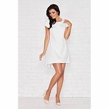 Sukienka z dłuższym tyłem M003