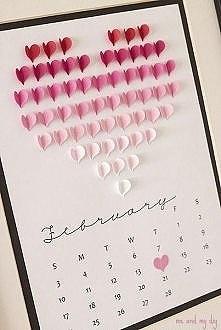 kartka kalendarz