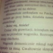 Boisz się, Aniele?  cudowna książka <3