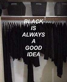 Kocham czarne ubrania...♥