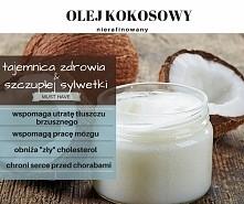 NIERAFINOWANY (!) OLEJ KOKOSOWY, NIE FILTROWANY bez sztucznych dodatków idealny do smażenia, na chleb, dodatek do wypieków ! Olej kokosowy jest jedynym tłuszczem, który nie przy...