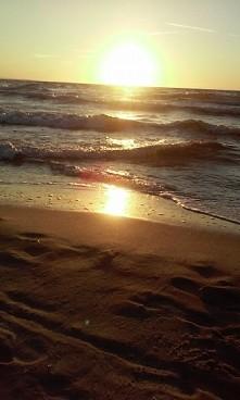 Polskie morze w Międzyzdrojach