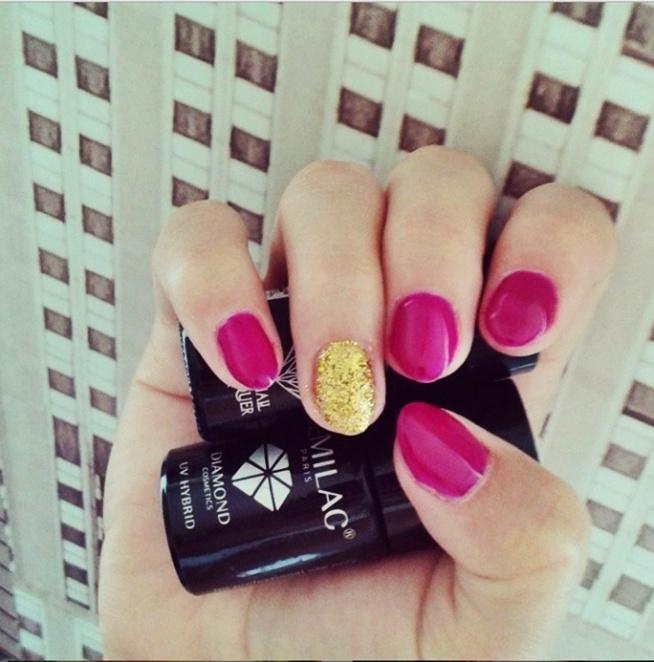 Hybrydowy róż+złoto ♥