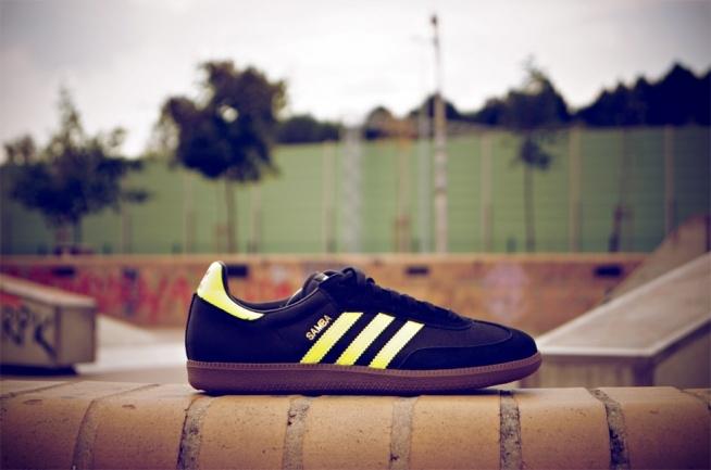 Adidas Samba retro kicks z kolekcji Adidas Originals