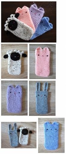 zwierzo - etui na telefon ręcznie robione :)