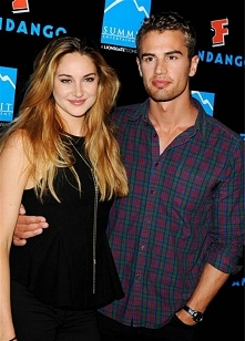 Shailene Woodley and Theo J...