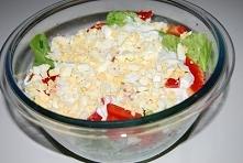 Surówka z sałaty z jogurtem