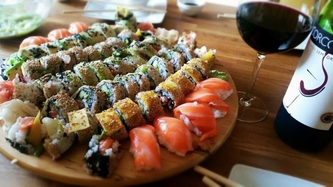 homemade sushi!!