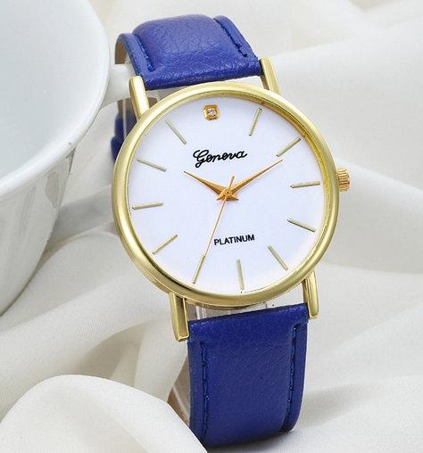 Sprzedam granatowy zegarek. Kontakt na malia: zdjecia1@vp.pl lub na facebooku: Stylowe Zegarki Zapraszam :))
