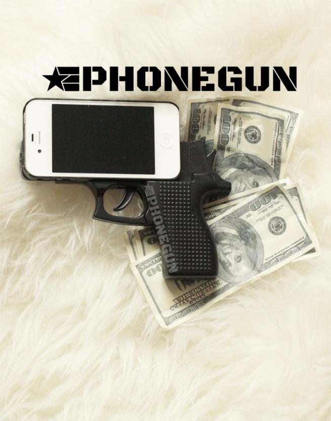 Obudowa pistolet iphone, iphone case gun, obudowa pistolet iphone cena, obudowa do telefonu pistolet, Policja w U.S.A. zakazuje noszenia tej obudowy! – Obudowa do telefonu iPhone 4/4s/5/5S/6 w kształcie pistoletu