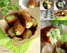 Brokułowe krokiety kładniki: (ok 10 krokietów)      25 dkg ugotowanych ziemniaków     25 dkg brokuła     1 jajko     15 dkg startego sera żółtego     sól     pieprz  panierka:  ...