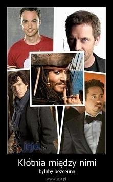 taak! Sheldon,house,sherlock,ironmen, Jack <3