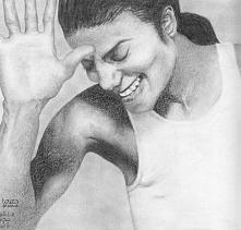 Rysunek Michaela Jacksona w...