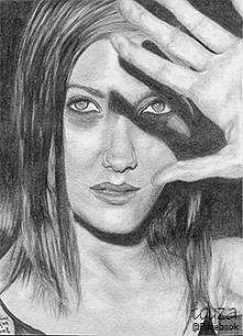 Portret Marion Cotillard wy...