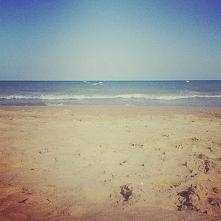 Plaża w Hiszpanii.