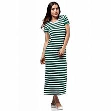 MOE169 sukienka zielona