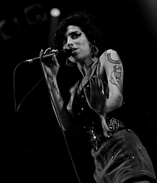 """Yes he looked like you But I heard love is blind…"" ~Amy Winehouse"