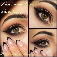 Wieczorowy makijażyk dla zainteresowanych na blogu :)  Jak się podoba?