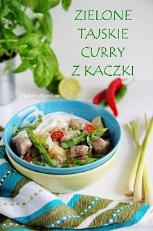 Zielone tajskie curry z kaczki - przepis po kliknięciu w zdjęcie. Blog Pełny ...