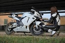 Girl with moto *.*