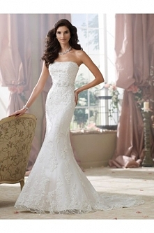 David Tutera For Mon Cheri 214214–Kerri Wedding Dress