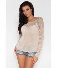 Cześć dziewczyn mamy dla Was ażurkowy sweterek idealny na letnie wieczory.