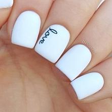White nails for summer