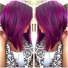 pink/purple hair *.*