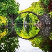 Starożytny Most, Kromlau, Niemcy