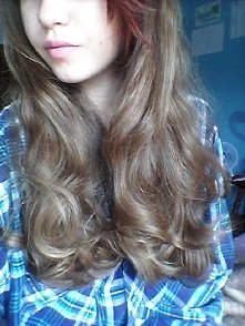 #hair #shiny #long